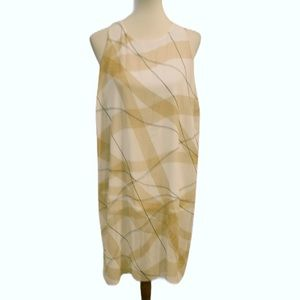 Alfani Geometric Sheath Dress Size M/L